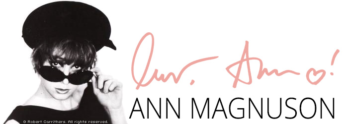 Ann Magnuson Official Website